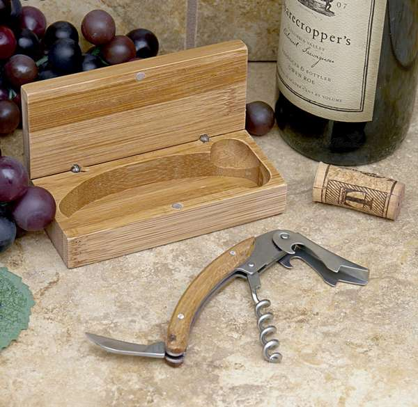 Natural Eco-Friendly Corkscrews
