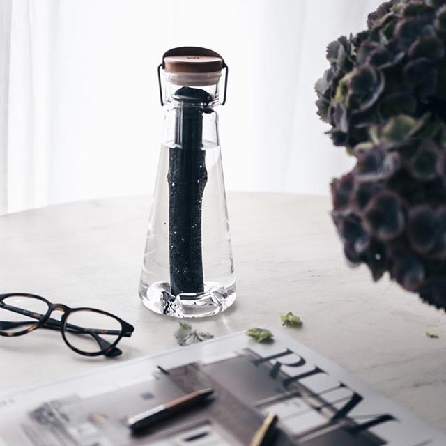 Bamboo-Filtered Water Bottles