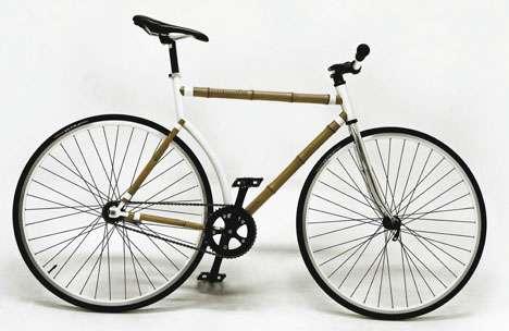 Naturalistic Bamboo Bicycles