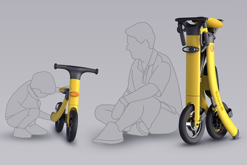Folding Generational Scooters