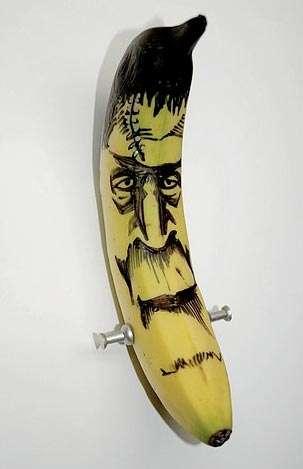 Banana Doodle Art