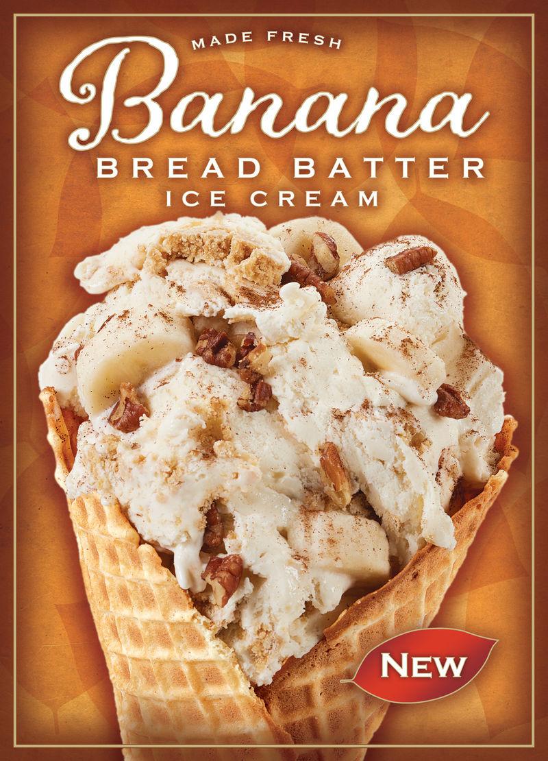 Bread Batter Ice Creams
