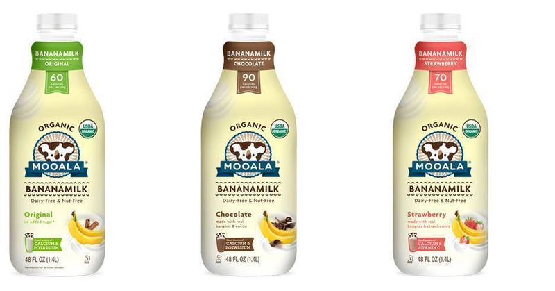 Flavored Banana Milks
