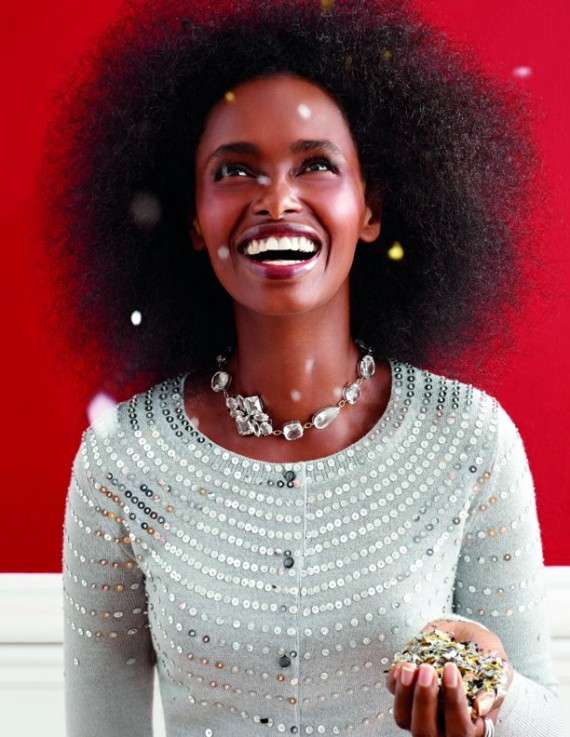 Sequins-Dripped Holiday Campaigns