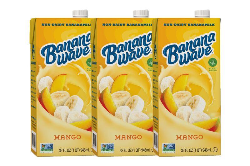 Mango-Flavored Non-Dairy Milks