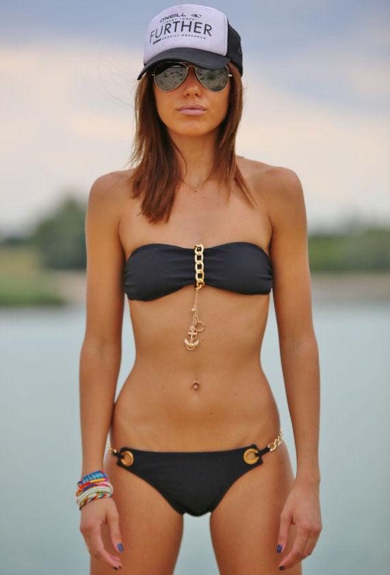 Nautical Embellishment Bikinis