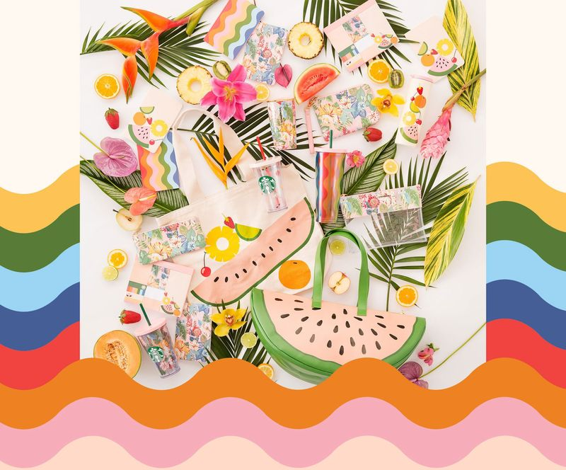 Playful Summer Swag Collections