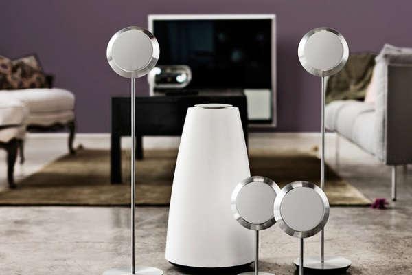 Minimalist Neo-Retro Speakers