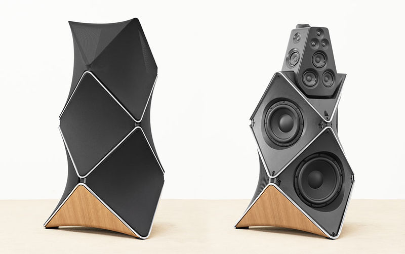 Sky Scraper-Inspired Speakers