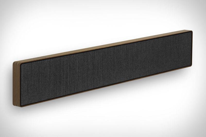 design conscious soundbars bang olufsen beosound stage. Black Bedroom Furniture Sets. Home Design Ideas