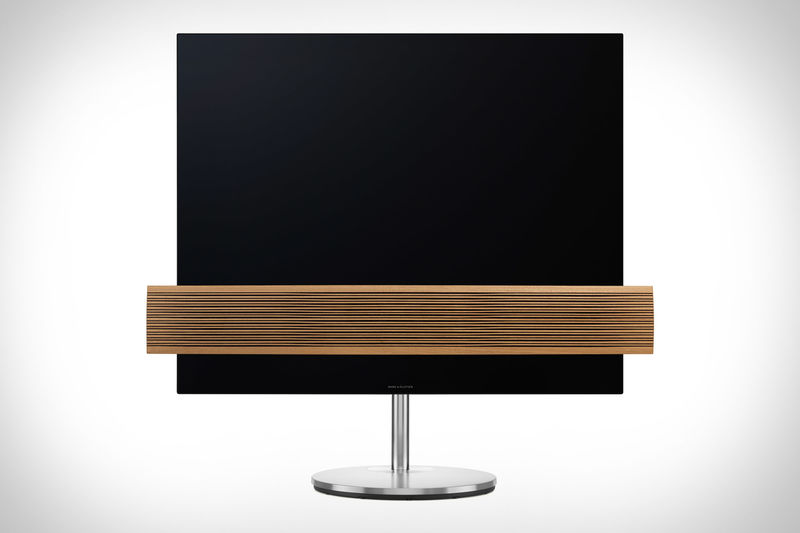 Wood-Accented TV Sets