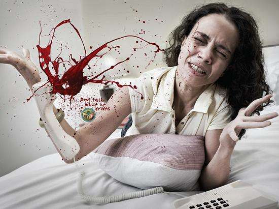 Blood Spurting PSAs