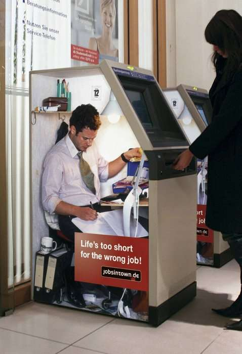 Bank Machine Ads