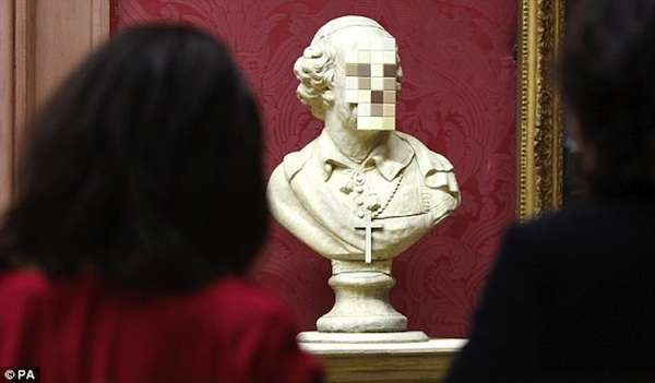 Classic Pixelated Busts