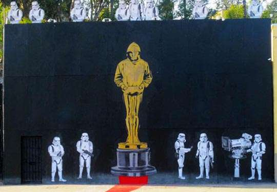 Movie Award Graffiti