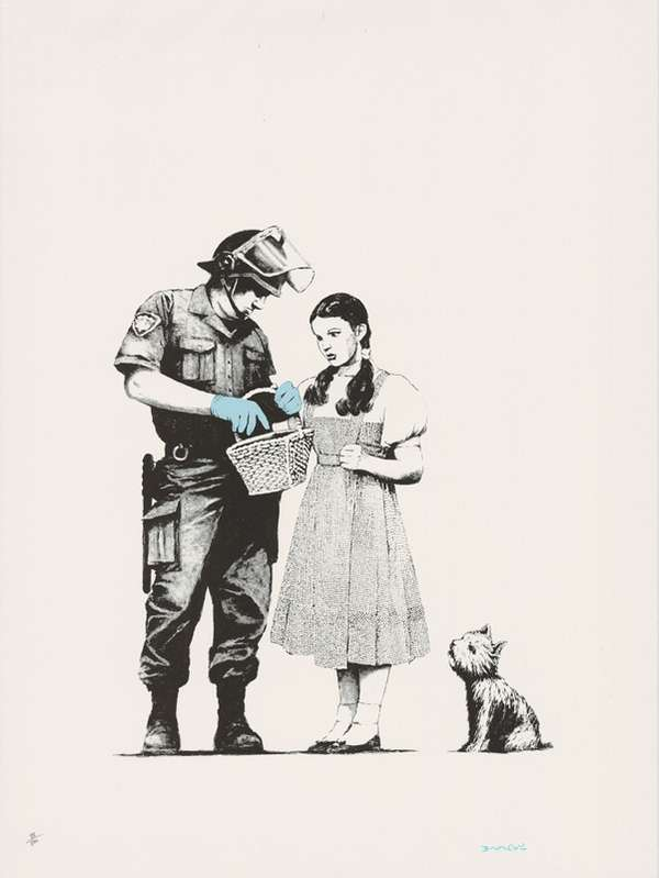 Wizard of Oz Graffiti Prints