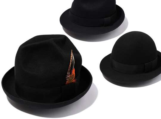 Dapper Black Hats