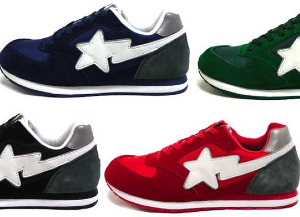 Color Coded Stellar Shoes