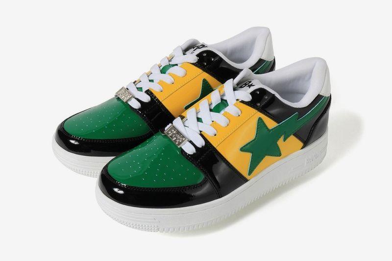 Bold Summer-Ready Tonal Sneakers