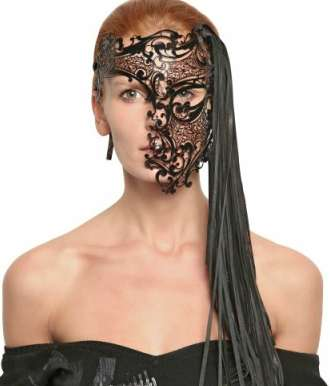 Henna-Inspired Face Covers