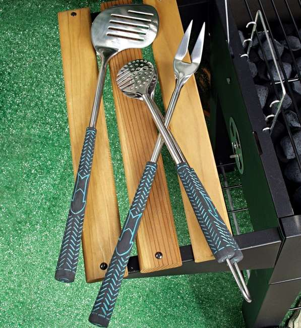 Golf-Inspired Barbecue Utensils