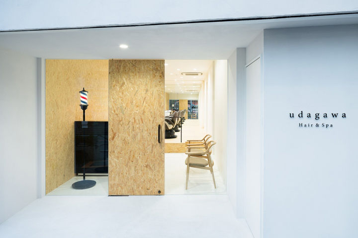Austere Barber Shop Interiors