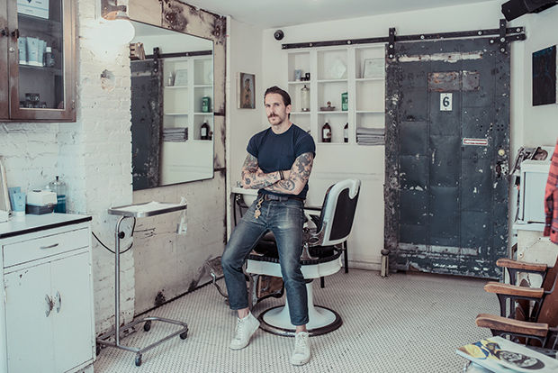 Nostalgic Barbershop Photography