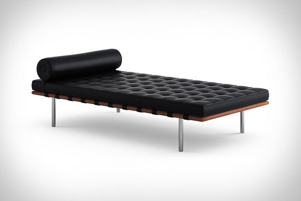 Tufted Geometric Daybeds