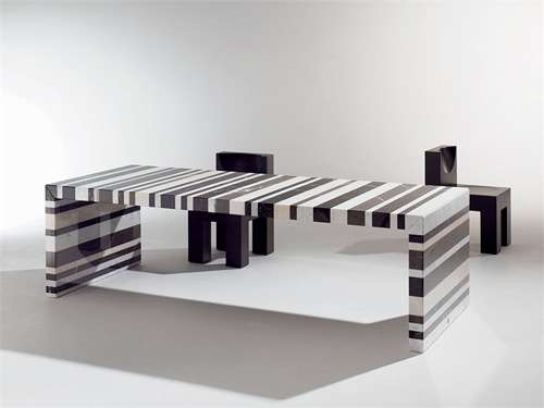 Striped Stoned Furniture