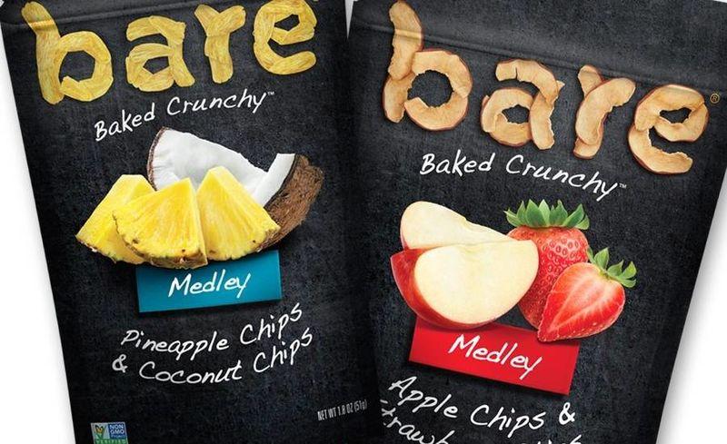 Crunchy Fruit Chip Snacks