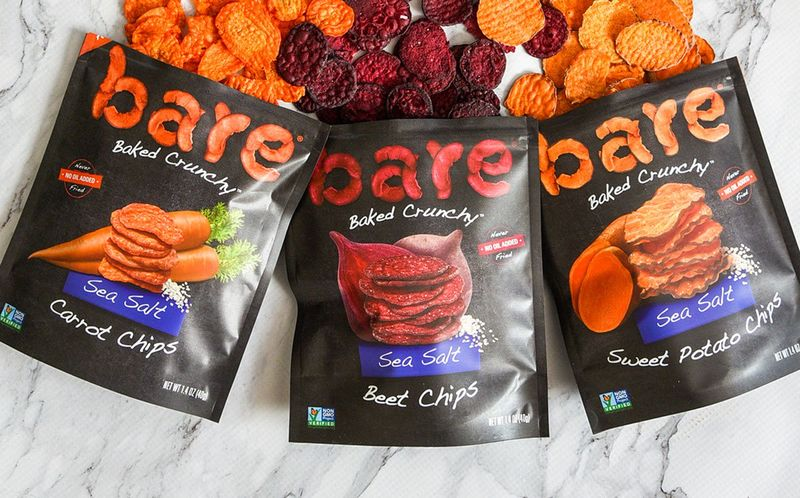 Baked Veggie-Based Snack Chips