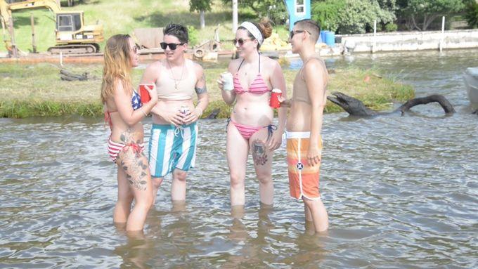 Transmasculine Swim Tops