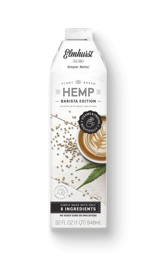 Cafe-Quality Hemp Milks