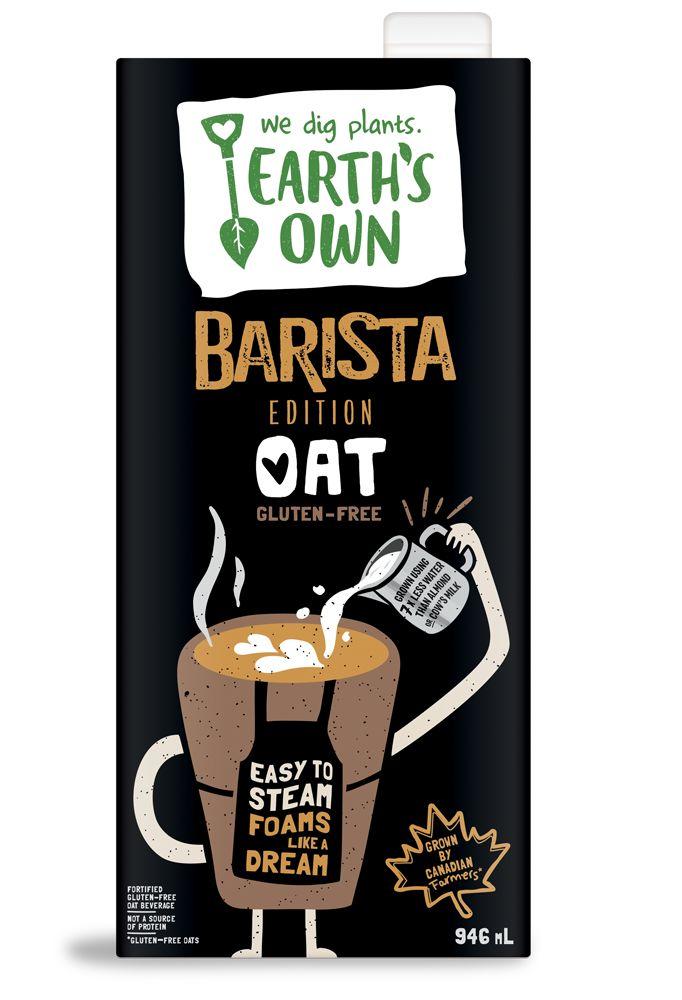 Latte-Specific Oat Beverages