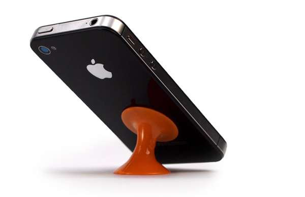 Suctioned Smartphone Stands