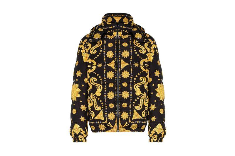 Luxury Baroque Puffer Coats