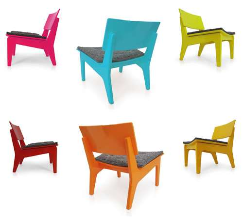 Colorful Eco Chairs