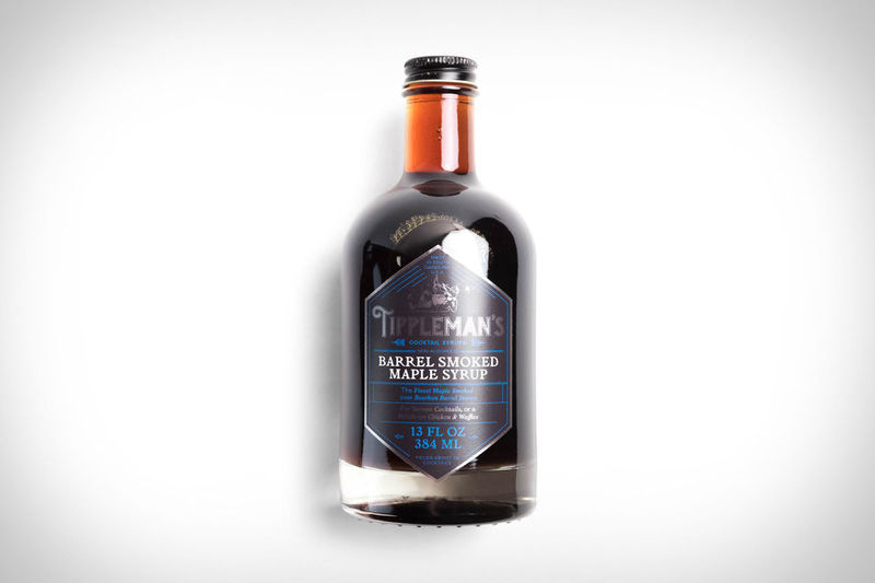Smokey-Infused Maple Syrups