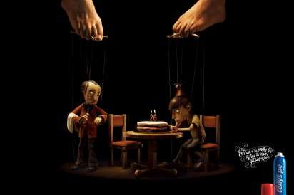 Feet-Controlled Marionette Ads