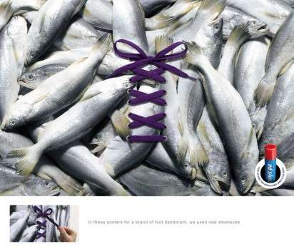 Smelly Shoe Ads