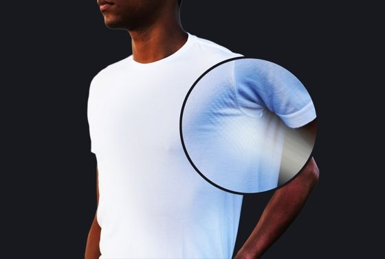 Temperature-Regulating T-Shirts