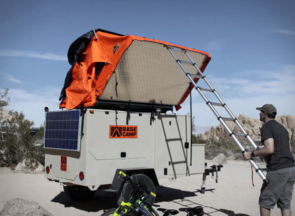 Weather-Resistant Camping Trailers