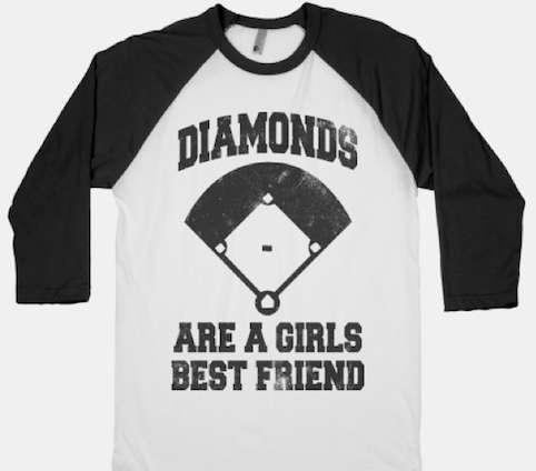 Baseball Diva Tees