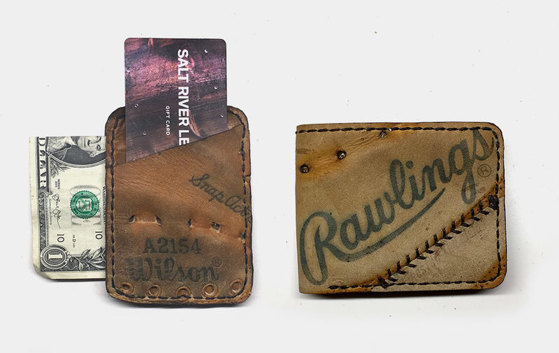 Upcycled Baseball Accessory Wallets