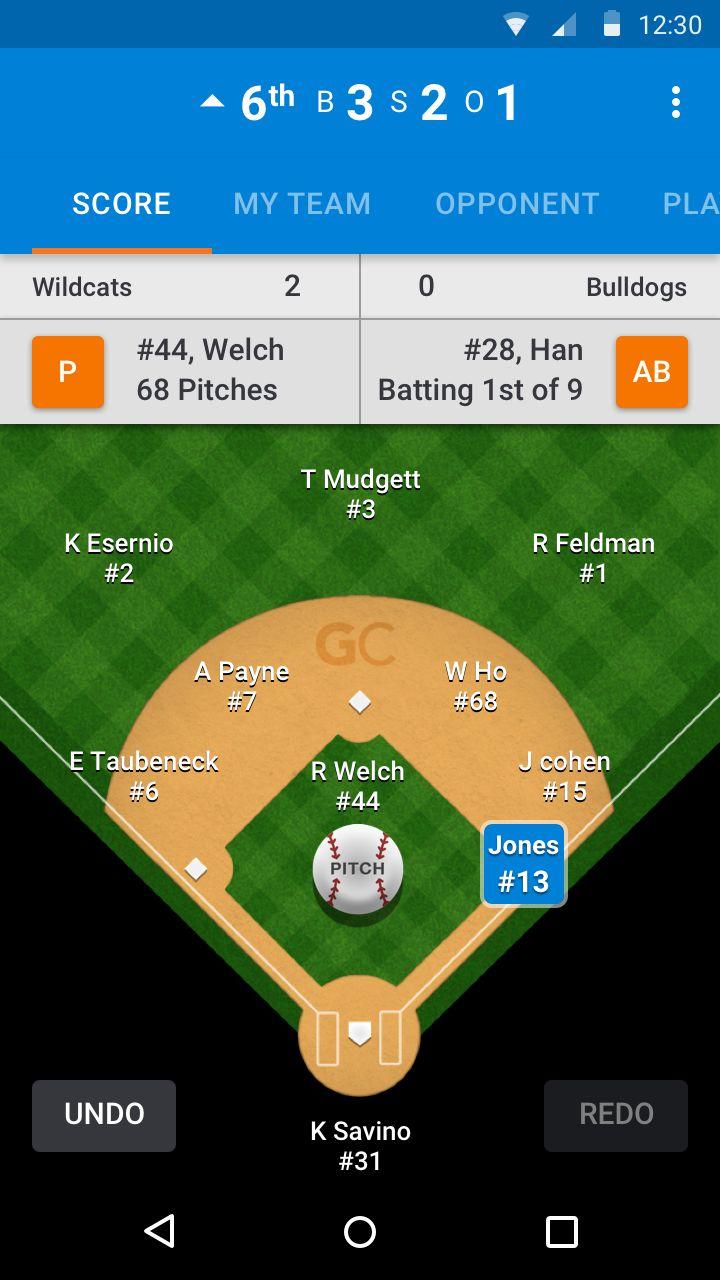 Sports Scorekeeping Apps