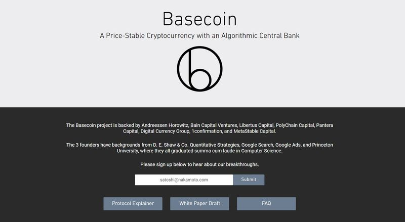 basis cryptocurrency price