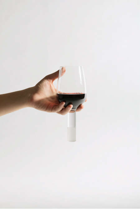 Baseless Wine Glasses
