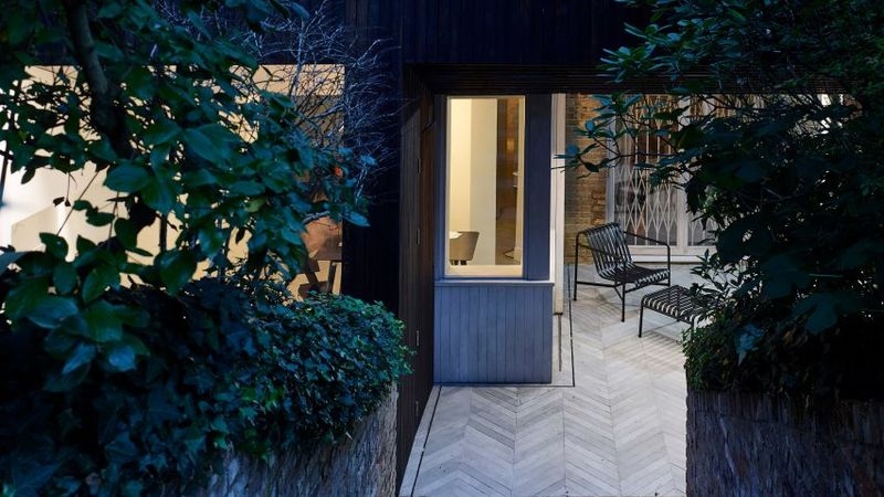 Charred-Timber Basement Extensions