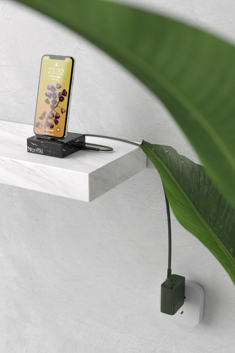 Swiveling Quick-Charging Adapters