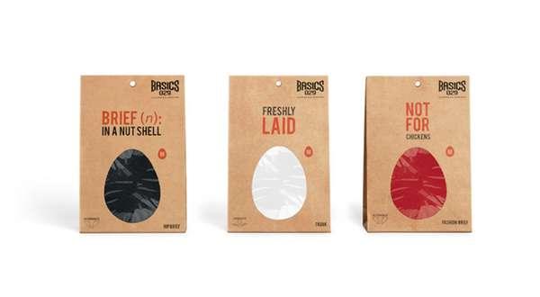 Eggcentric Underwear Branding